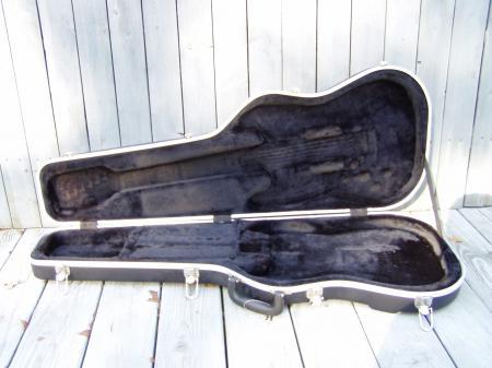 fender stratocaster telecaster hard shell form fit case. Black Bedroom Furniture Sets. Home Design Ideas