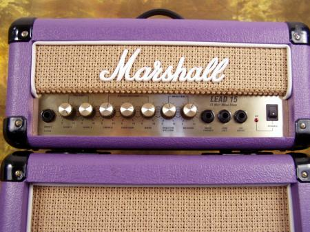 MARSHALL AMPLIFIER LEAD 15 MICRO STACK-RARE & LIMITED EDITION