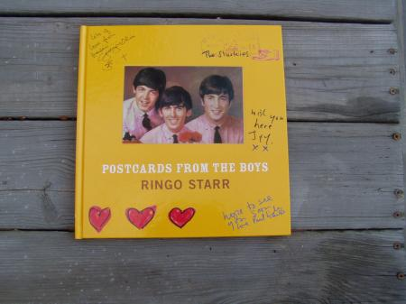 Book- Postcards From The Boys by Ringo Starr